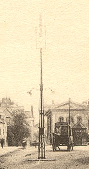 Old lamppost in the Broad