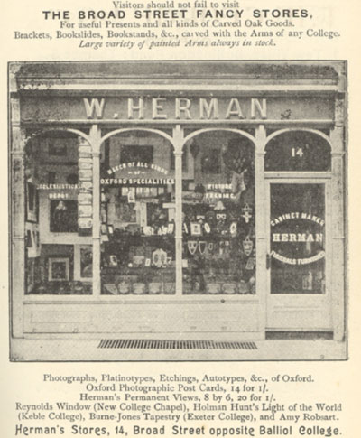 W. Herman, 14 Broad Street