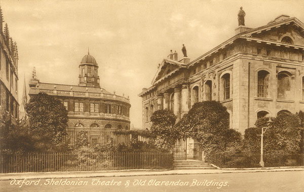 Side of Clarendon Building