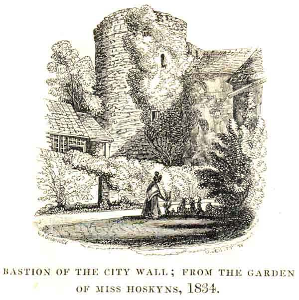 Miss Hoskins' bastion