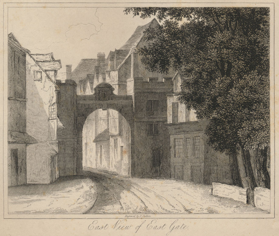 East Gate by Skelton, 1823