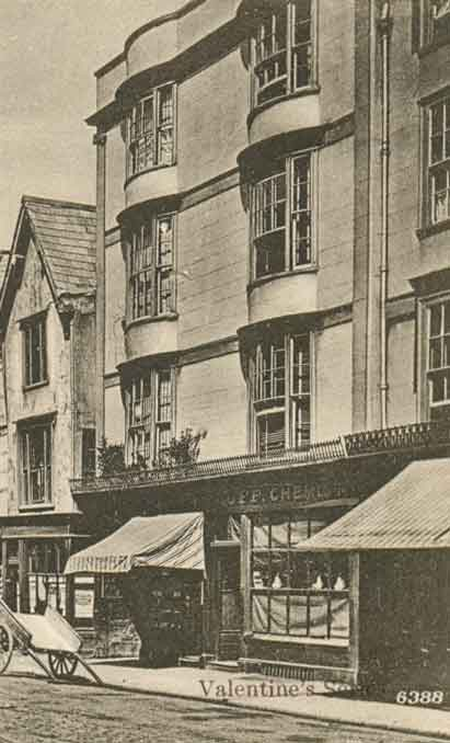 Luff's shop at 24 Cornmarket