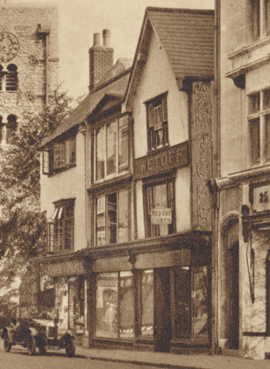 26 to 28 Cornmarket in the 1920s