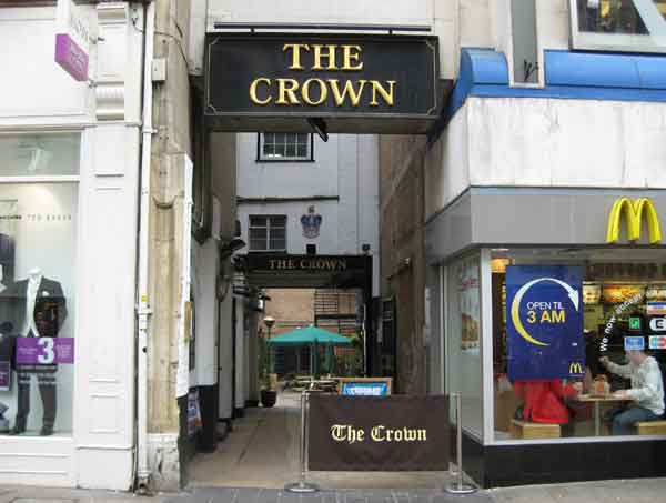 Passageway to the Crown