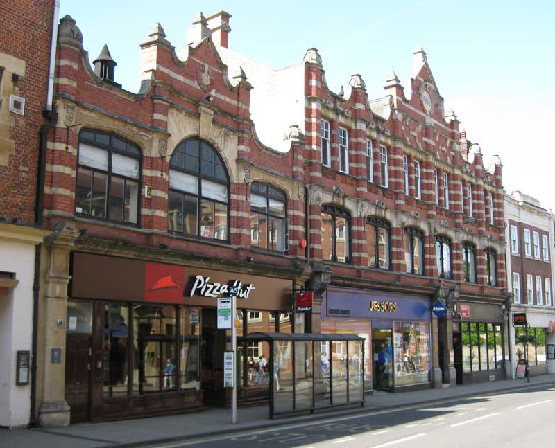 Old Co-op in May 2009