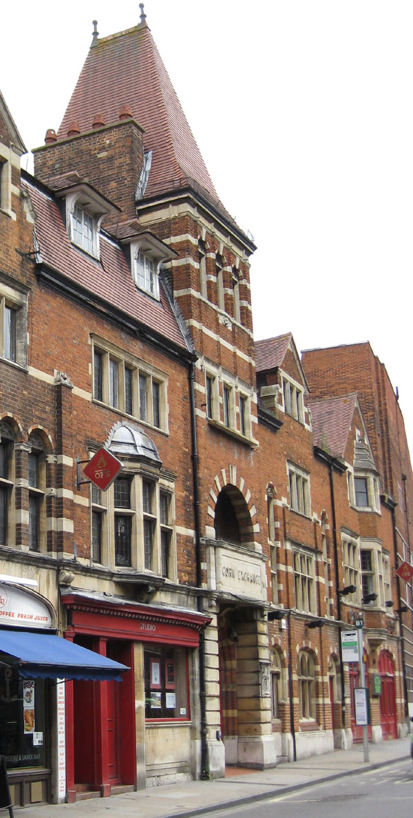 Old Fire Station and Corn Exchange