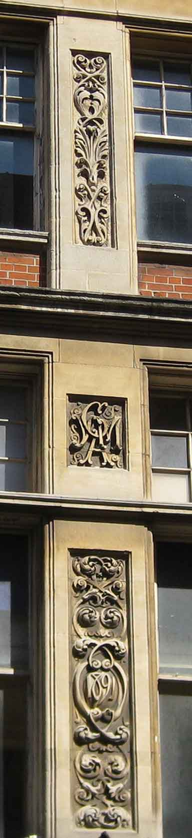 Detail of YMCA building