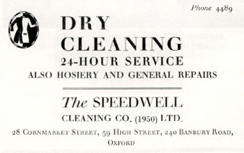 Speedwell dry cleaning