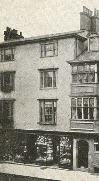 72 High Street in 1920s