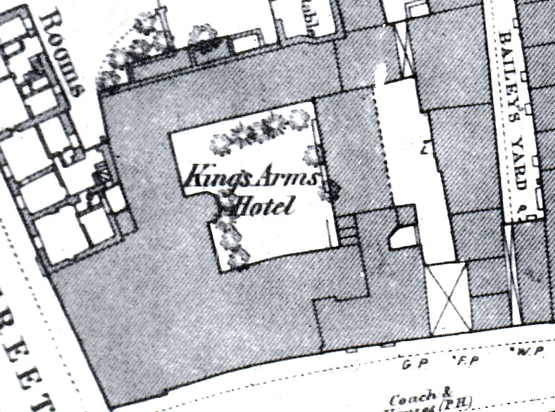 King's Arms in 1876