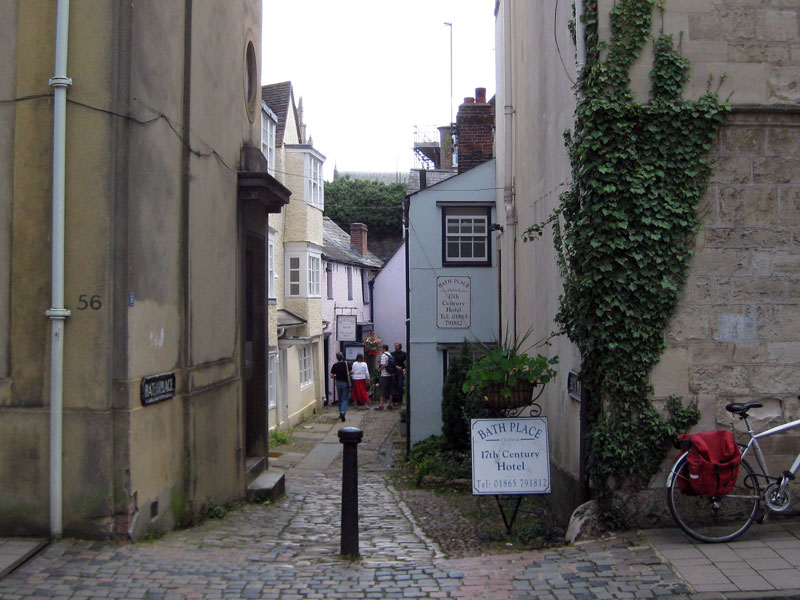 Bath Place, off Holywell