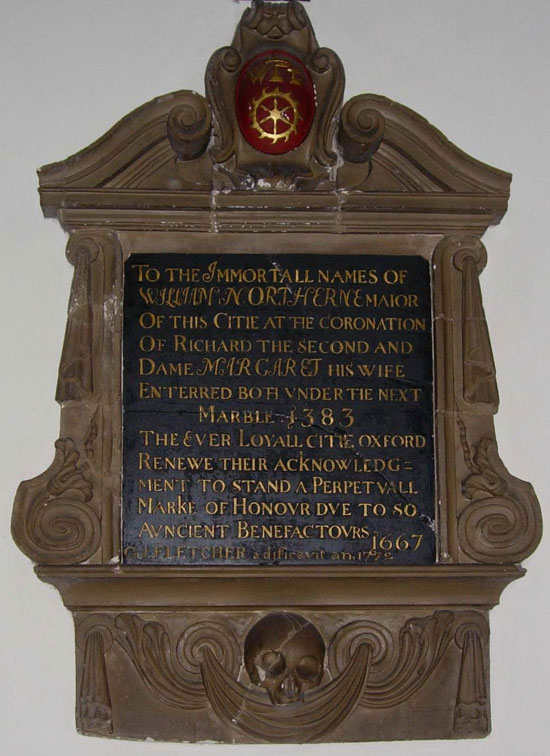 Inscription to William Northern
