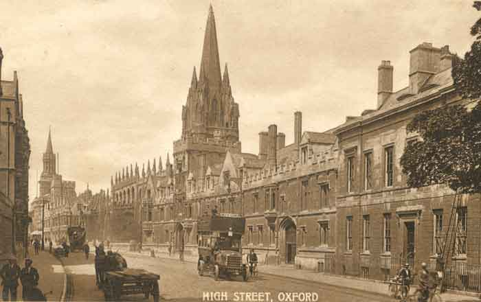 High, east end