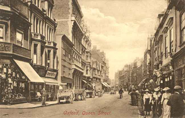 Queen Street looking east