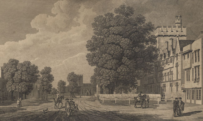St Giles in 1779
