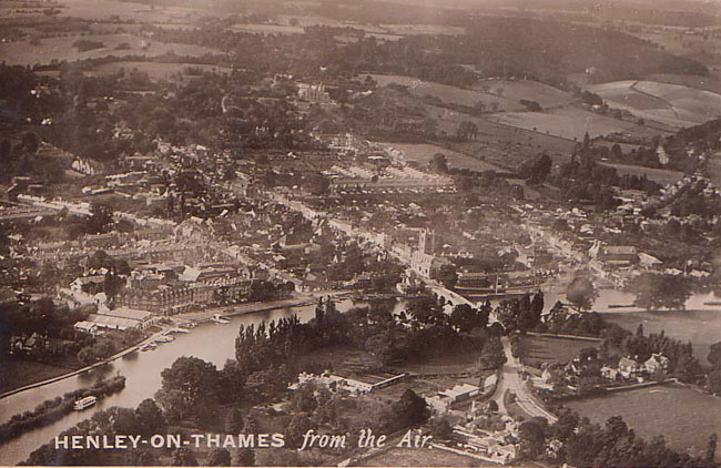 Aerial view, Henley