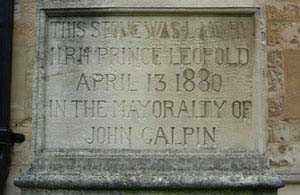 Galpin inscription