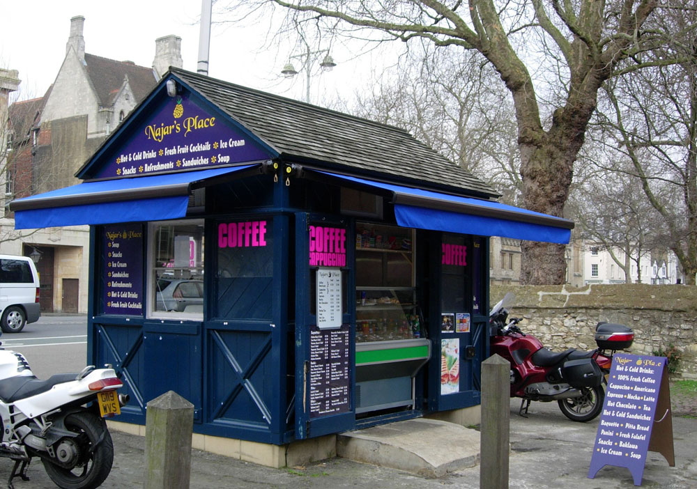 Cab hut in 2005