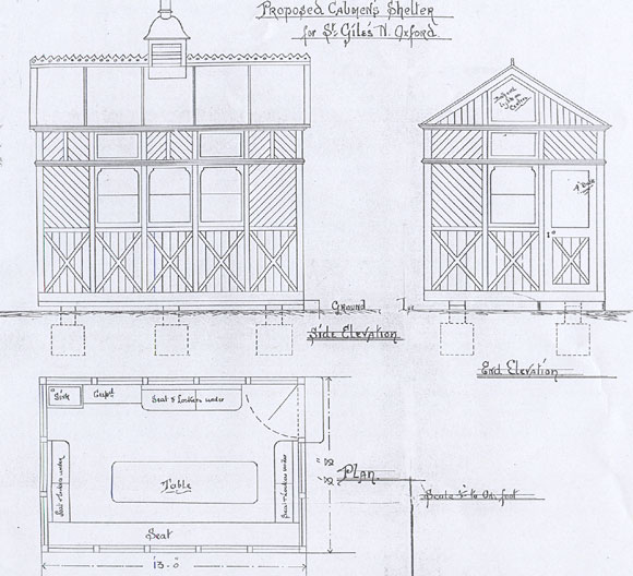 Plans for the shelter