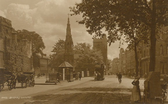 St Giles in 1910
