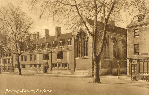 Pusey House in the 1920s