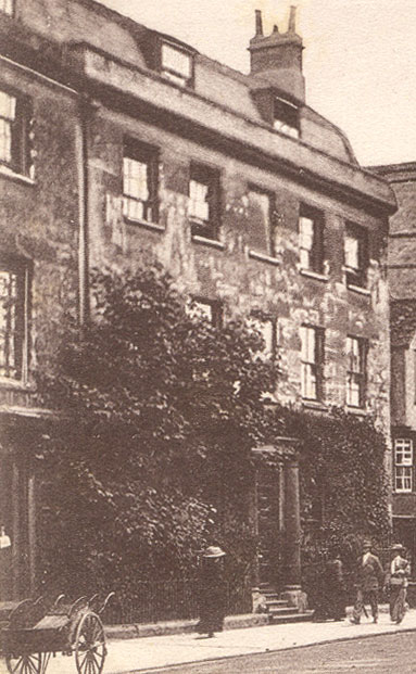 55 St Giles in 1905