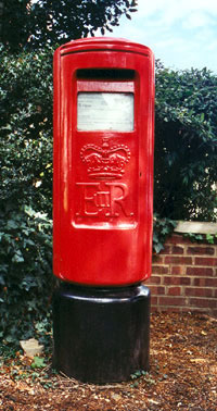 Pillar box in Rectory Road, Oxford