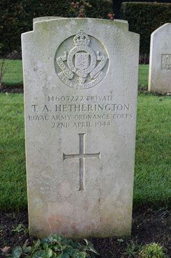 Hetherington headstone